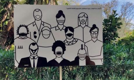 Ruedi Baur présente des illustrations issues  de son carnet de bord du confinement