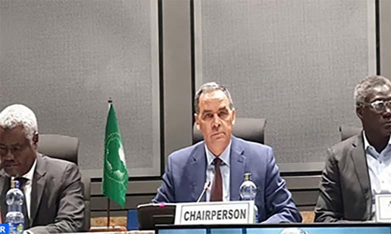 Le Maroc insiste sur le respect de la légalité internationale, du bon voisinage et la lutte contre le séparatisme pour une paix durable en Afrique