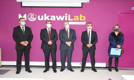 ANAPEC : Inauguration de l'incubateur d'entreprises MoukawiLab à Rabat