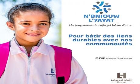 LafargeHolcim Maroc dresse le bilan «N'Bniouw l'7ayat»