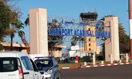Aéroport d'Agadir-Al Massira  :  Le trafic des passagers régresse en octobre 2020