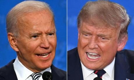 Les propos de Trump sur l'élection sont « scandaleux », réagit l'équipe de Joe Biden