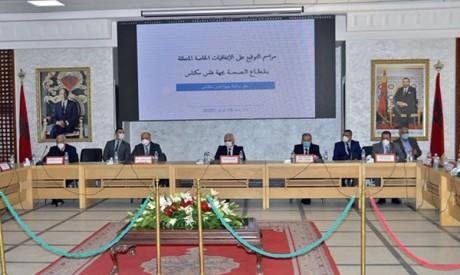 Réunion sur les conventions relatives  au contrat-programme entre l'État et la région