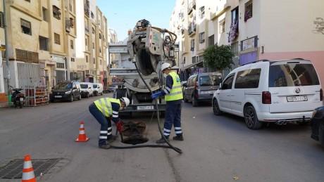 Casablanca : Les équipes de Lydec mobilisées pour faire face aux fortes pluies prévues