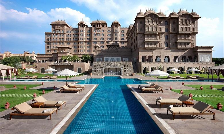 Le portefeuille du groupe en Inde compte des marques hôtelières dans le segment du luxe, tel que l'emblématique Fairmont Jaipur. Ph. DR