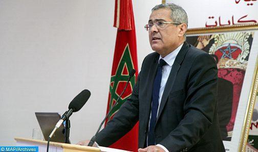 Ben Abdelkader  à la 36e session du Conseil des ministres arabes de la Justice