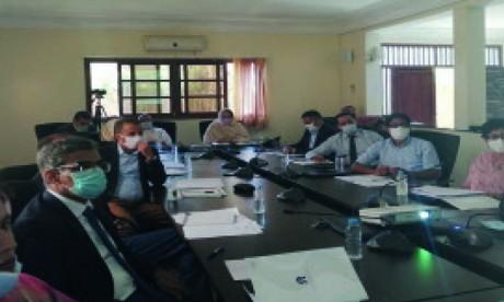 Le CRDH adopte une série de projets socio-économiques