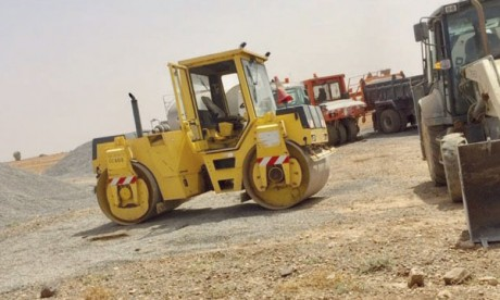 Projet de construction de la route provinciale reliant Sidi Neffati et Oued Grou