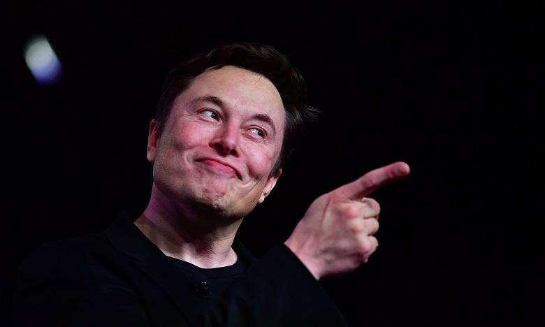 L'ascension fulgurante de Musk dans le classement des grosses fortunes est lié à l'envolée du titre de Tesla à Wall Street. Ph. AFP