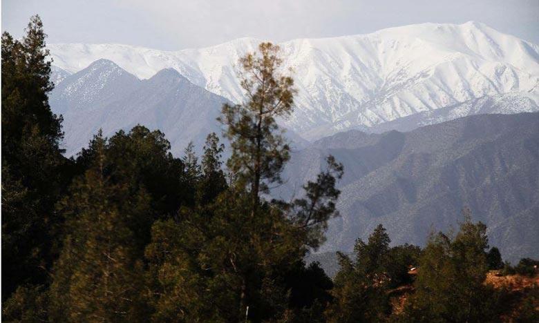 La DGM prévoit pour  ce  vendredi, de chutes de neige sur les reliefs de l'Atlas et Hauts plateaux orientaux à partir de 1.400 m. Ph : DR