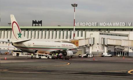 ONDA: baisse du trafic commercial des passagers à fin octobre 2020