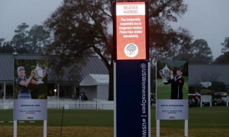 Golf : le dernier tour de l'US Open féminin reporté