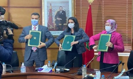 Economie solidaire : Signature d'un partenariat pour encourager les investissements des MRE