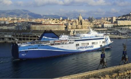 La Méridionale lance sa nouvelle liaison maritime Marseille-Tanger Med