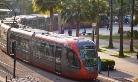 Casablanca : La ligne T1 du tramway en arrêt sur toute la zone centre-ville