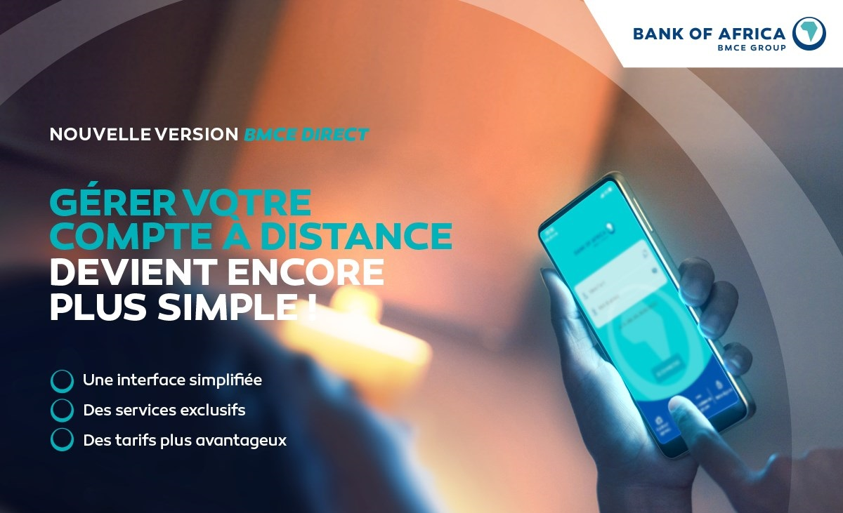 Bank Of Africa lance une nouvelle version de la plateforme de banque à distance