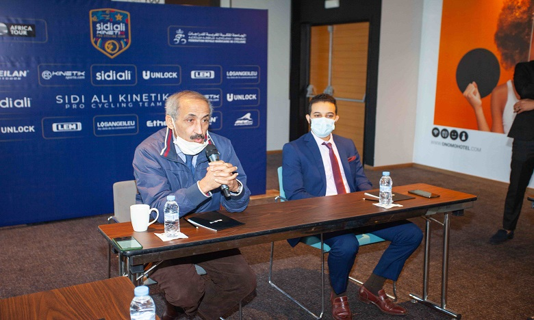 La Sidi Ali Kinetik Sports Pro Cycling Team se prépare à reprendre la compétition