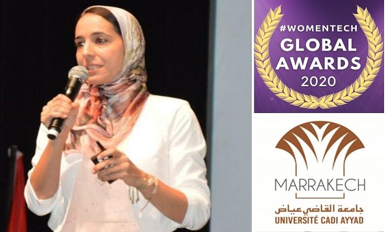 """La marocaine Hajar Mousannif remporte le 1er prix du """"Women Tech"""""""