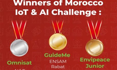 Morocco IoT & AI Challenge : et les gagnants sont...