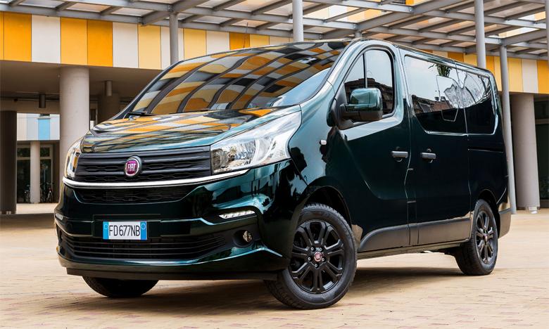Le design du Talento reprend les lignes horizontales des autres modèles de la gamme Fiat Professional, créant ainsi un air de famille.