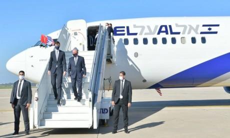 Maroc-Israël: Les liaisons aériennes régulières prévues d'ici 2 à 3 mois