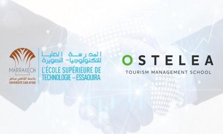 OSTELEA Tourism Management School et l'Ecole Supérieure de Technologie d'Essaouira partenaires