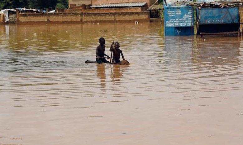 L'imperméabilisation du sol a joué un rôle dans les inondations qu'a connues le Niger en août 2020. Ph. AFP