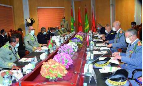 Deuxième réunion de la commission militaire mixte mauritano-marocaine