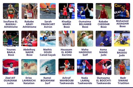 JO Tokyo 2020 : 21 sportifs marocains bénéficient des bourses de solidarité olympiques