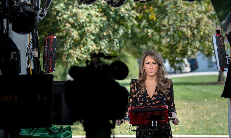«Je quitterai la Maison-Blanche pour saisir de nouvelles opportunités», a écrit l'ancienne porte-parole du vice-président Mike Pence et du Pentagone. Ph :  AFP