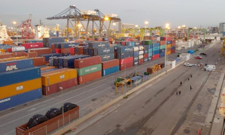 Le port de Casablanca représente environ 32,6% du trafic global, il a assuré le transit de 27,6 MT, en hausse de 1,2% par rapport à fin novembre 2019. Ph : DR