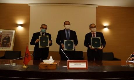 Régionalisation avancée : Un Mémorandum d'entente paraphé entre la DGCT, l'ARM et l'ambassade du RU