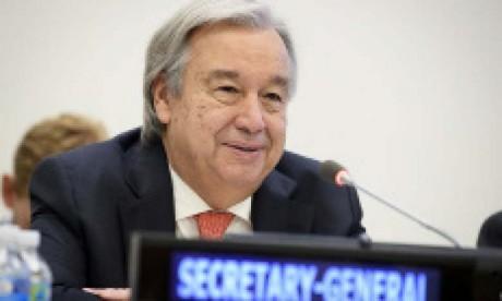 Le secrétaire général de l'ONU appelle à placer 2021 sous le signe de la guérison