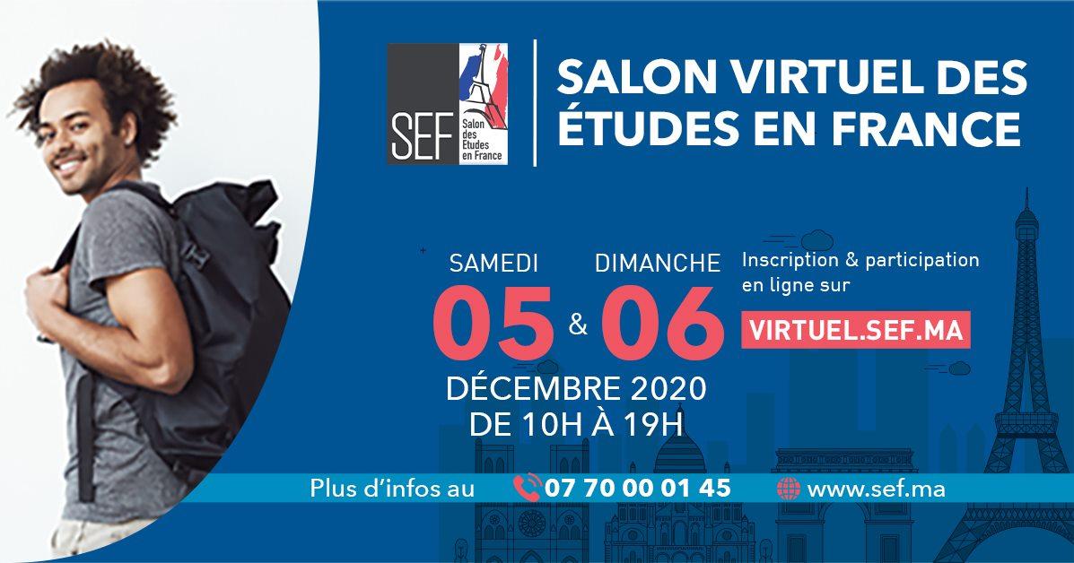 Le Salon des Etudes en France organisé en mode virtuel