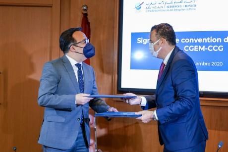 """Lancement d'un service de médiation """"Corridor CGEM-CCG"""""""