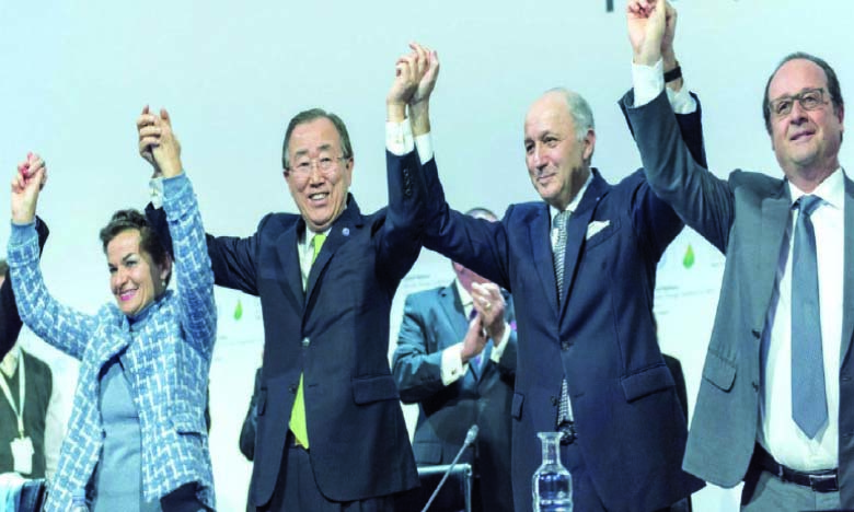 «Pour concrétiser la vision de Paris, la reprise post-Covid-19 et la lutte contre le changement climatique doivent aller de pair»