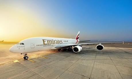 Emirates réceptionne son 116e Airbus A380 et attend deux autres d'ici la fin du mois