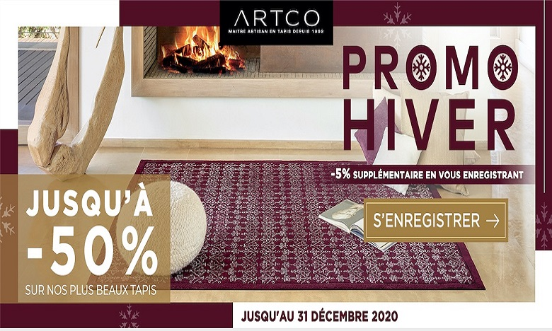 ARTCO lance son site e-commerce