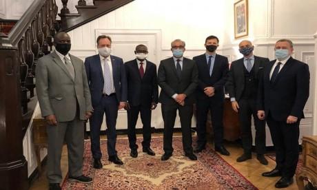 Des ambassadeurs accrédités à Varsovie saluent le rôle stratégique du Maroc et son engagement en faveur de la paix et la stabilité de la région