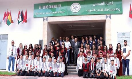 Forte mobilisation de l'Agence Bayt Mal Al-Qods Acharif sur le front social en 2020 pour atténuer les répercussions de la pandémie sur la population de la Ville sainte