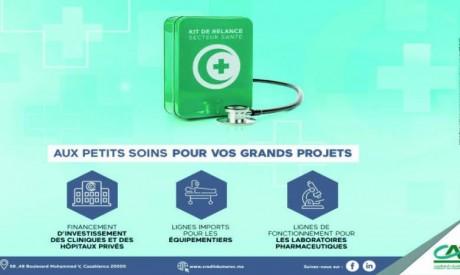 Crédit du Maroc au chevet du secteur privé de la santé