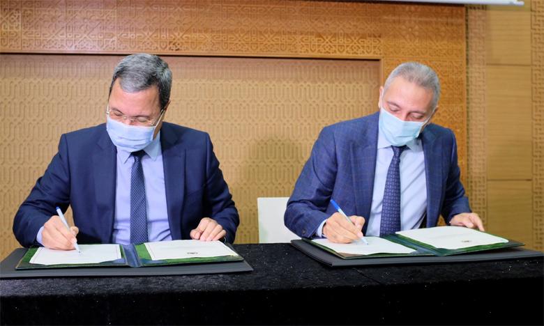 Le protocole d'accord portant sur l'extension de la ZAI a été signé mardi 8 décembre par le ministre de l'Industrie, Moulay Hafid Elalamy, et le directeur général de la Caisse de Dépôt et de Gestion,  Abdellatif Zaghnoun.