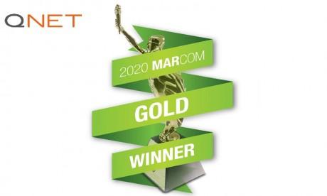 QNET remporte trois médailles d'or aux MarCom Awards 2020