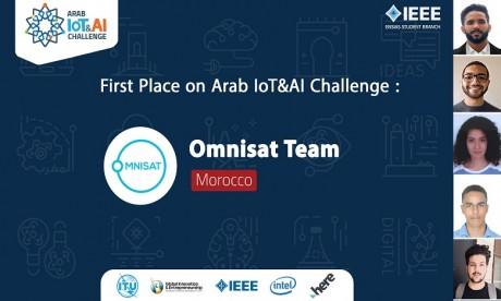 Le Maroc remporte le premier prix de la compétition Arab IoT & AI Challenge