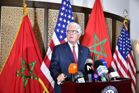 David Fischer présente la carte complète du Maroc officiellement adoptée par le gouvernement US
