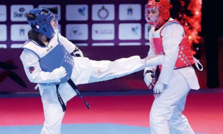La sélection nationale de taekwondo en stage de préparation à Bouznika jusqu'au 3 janvier