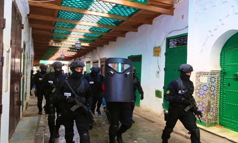 Démantèlement d'une cellule terroriste à Tétouan, trois extrémistes interpellés