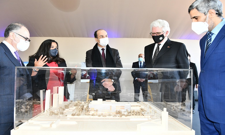 Pose de la première pierre du nouveau Consulat général des États-Unis à Casablanca
