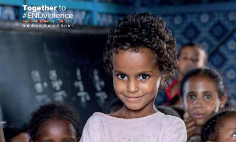 L'ONU lance la campagne  «Ensemble pour mettre fin  à la violence» contre les enfants
