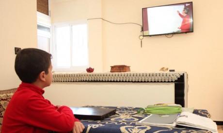 La diffusion des cours sur les chaînes TV  arrêtée temporairement